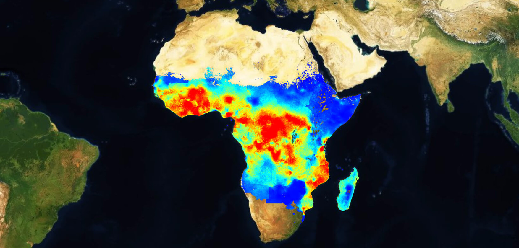 Malaria Atlas Project map